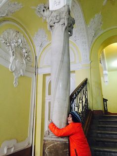 """Little Pasah loved the """"Éden Ház"""" (""""Paradise House""""). It indeed looked like the Paradise! Budapest, Paradise, Stairs, House, Home Decor, Stairway, Decoration Home, Home, Room Decor"""