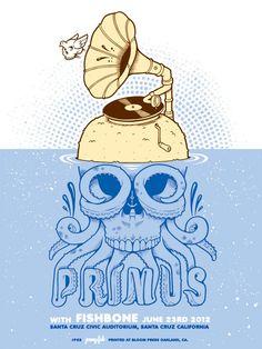 Santa Cruz Primus poster