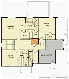 Excellent Brick Traditional House Plan - 12288JL | 2nd Floor Master Suite, Bonus Room, Butler Walk-in Pantry, CAD Available, Corner Lot, Den-Office-Library-Study, Elevator, In-Law Suite, PDF, Photo Gallery, Traditional | Architectural Designs