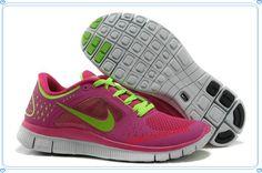 cheap for discount 6f665 b252d Fireberry Electric Green Pro Platinum Electric Green Nike Free Run 3  Women s Running Shoes