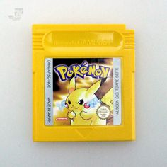 Nintendo Gameboy POKEMON Gelb Jaune - cyan74.com vintage & pop culture