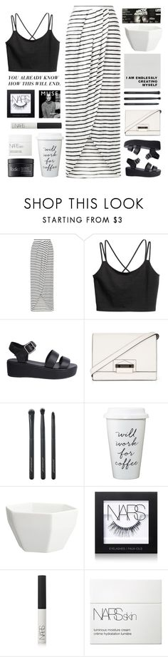 """Untitled #2442"" by tacoxcat ❤ liked on Polyvore featuring New Look, Nude, BCBGMAXAZRIA, Japonesque, CB2, NARS Cosmetics, Rodial and Murphy"