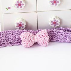 Crochet headband for girls