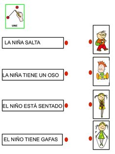 Lectura comprensiva 3 by Nieves Lopez Pons via slideshare Spanish Classroom, Teaching Spanish, Teaching Math, Speech Language Therapy, Speech And Language, Speech Therapy, Art Therapy Activities, Learning Activities, Spanish Activities
