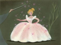 concept art for cinderella by the incredible disney artist mary blair