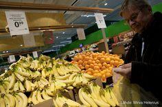 Reilun kaupan banaaneja. Kuva: Mirva Helenius