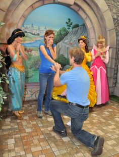 I'm pretty sure being proposed to at disneyland is one of the greatest ideas ever. Def in my top 5. <3 <3 <3  Site: 10 Most Romantic Places To Propose At Disney | TheKnot Blog.