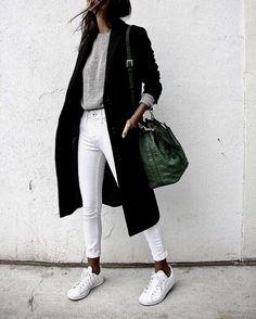 winter fashion black midi long sweater coat