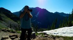 Glacier National Park Guest Hike on Motion TV show on Live Well Network w host Greg Aiello