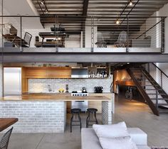 Renovation of Capitol Hill #Industrial #Loft in Seattle by SHED Architecture & Design by design_interior_homes