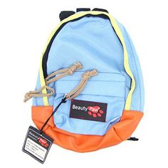 Pet Dog Out Large Backpack  Versatility Large Dog With A BackpackBlue Orange >>> Check this awesome product by going to the link at the image.
