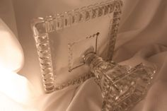 Glass Cake Stand by Adams and Company  Square by VintagebyViola, $175.00. Hard to find square plate.