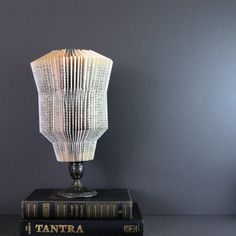 Large Paper Cog Book Sculpture - Home Decor - Recycled Book Paper. $68.00, via Etsy.