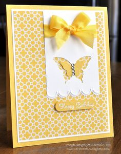 Card Creations by Beth: Sunshine & Butterflies