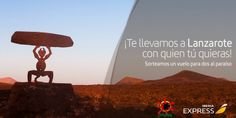 Sorteo de un vuelo para 2 personas a Lanzarote de Iberia Express #sorteo #concurso http://sorteosconcursos.es/2016/11/sorteo-vuelo-2-personas-lanzarote/