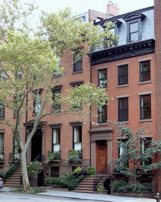 Houses in Brooklyn Heights.