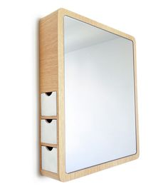 Browse products and ideas that are great small room storage solutions. Bookshelves, storage trunks, beds with bottom shelves, tiered tables all add storage to small rooms! Bathroom Vanity Storage, Storage Mirror, Built In Storage, Light Green Bathrooms, Purple Bathrooms, Purple Bathroom Accessories, Built In Dresser, Contemporary Vanity, Mirror Cabinets