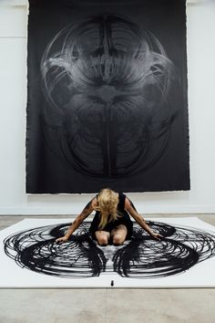 Kinesthetic drawing Artist- Heather Hansen