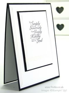 Simple card using Stampin' Up! Trust God - 12 Deals of Christmas