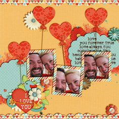 Paper Heart Templates v4 Love You Always Collection Bundle by Meagan's Creations