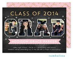Graduation Party Invitations ~ High school or college Graduation Party Invitations fall 2014