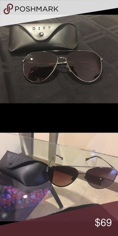 5923275d113 DIFF Eyewear Dash Sunglasses Diff sunglasses brown and bronze wore once  69  good condition POLARIZED Diff