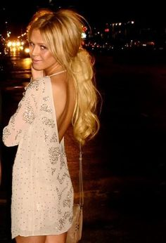 Open back dress, this exact one, money is no object