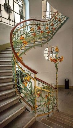 Beautiful Architecture, Architecture Design, Art Nouveau Architecture, Aesthetic Rooms, Makeup Aesthetic, House Goals, Dream Rooms, My New Room, Stairways