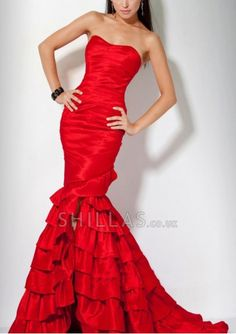 Gorgeous Long Red Evening Dresses