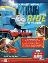 Win 4 tickets to ride the Kentucky Railway Day Out with Thomas!