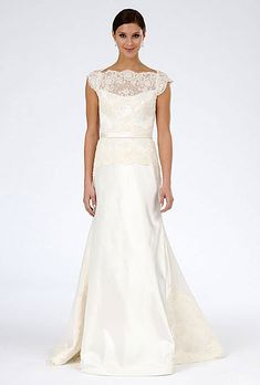Brides Illusion Necklines From The Spring 2017 Runways M D Dress Add Ons