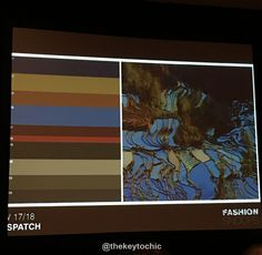 Dispatch trend color forecast fall 2017 winter 2018