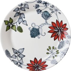 Arabia - Tableware - Runo - Parts and colours - Summer Ray Pottery Painting, Ceramic Painting, Ceramic Artists, Fabric Painting, Painted Ceramic Plates, Ceramic Pottery, Decorative Plates, Led Stick, Summer Ray