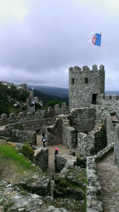 """See 1266 photos from 9000 visitors about scenic views, portugal, and historic sites. """"An century castle that was partially rebuilt in the Lisbon Map, Portugal, Moorish, Historical Sites, Willis Tower, Building, Travel, Castle, Lisbon"""