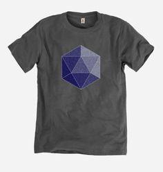 Men's Icosahedron Bamboo T-shirt