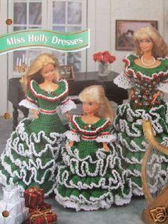 Crochet-Barbie Fashion Doll modèle MISS HOLLY par SureShopping