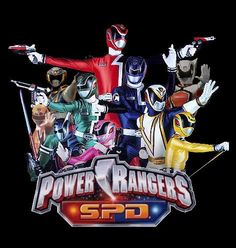 Power Rangers SPD Eli\'s current obsession