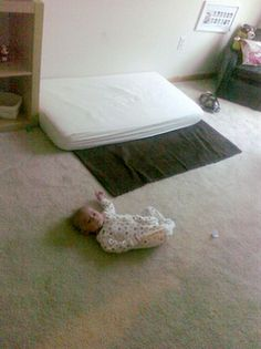 Hilarious blog from a Dad :) floor beds!! woot woot!!