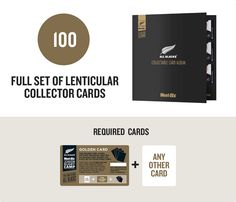 Full Set of Lenticular Collectable Cards