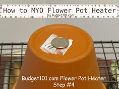 How to make a Flower Pot Heater