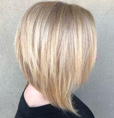 Polished Blonde Bob