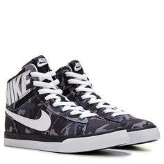Nike Adventurer High Top Sneaker Grade School Blue/White