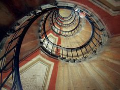 building in Istanbul     #spirals #stairs