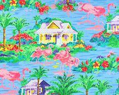 Fabulous flamingo fabric!