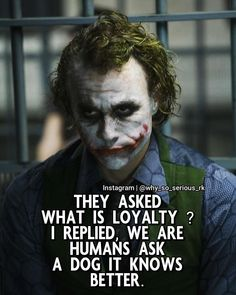 "Comment ""YES"" if you agree with this post ! Follow ( @why_so_serious_rk )  For more Motivational and Realistic Joker Quotes…"