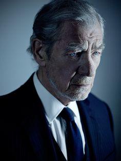 Ian McKellen by Sarah Dunn