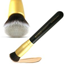 Best foundation brush with soft dense bristles creating a flawless finish every time.