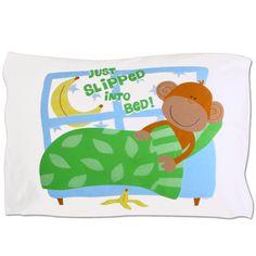 Monkey Autograph Pillowcase 1.99 on clearance