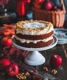 Jablkové tartaletky so slaným karamelom - Coolinári Mini Cheesecakes, Sweets, Desserts, Blog, Glitter, Basket, Dulce De Leche, Tailgate Desserts, Deserts