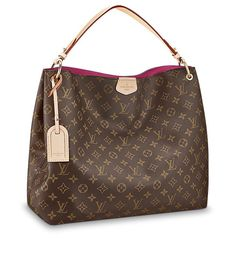 Graceful Louis Vuitton x x inches (Length x Height x Width) - Monogram canvas - Natural cowhide leather trimmings - Golden color metallic pieces - Snap hook closure - 1 interior zipped pocket - D-ring to hang keys and pouches Vuitton Bag, Louis Vuitton Handbags, Louis Vuitton Speedy Bag, Purses And Handbags, Louis Vuitton Monogram, Louis Vuitton Damier, Luis Vuitton Wallet, Coach Handbags, Fashion Mode